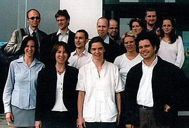 journalists.network goes east again (v.l.n.r.): Inka Burow (HAZ), Volker Danisch (dpa), Adrienne Woltersdorf (FR, Organisatorin), Martin Roy (reuters), Michael Streck (frei), Diana Zimmermann (arte), Carsten Volkery (spiegel online) Markus Lindemann (autorenwerk), Annett Brösel (NBC Europe), Barbara Jung (Focus), Jochen Arntz (Berliner Zeitung), Philipp Gessler (taz), Evelyn Binder (Kölner Stadt-Anzeiger)