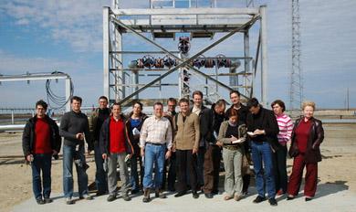 Öl und Gas sind das Gold der sibirischen Steppe: Recherchetermin an einer Pumpstation.