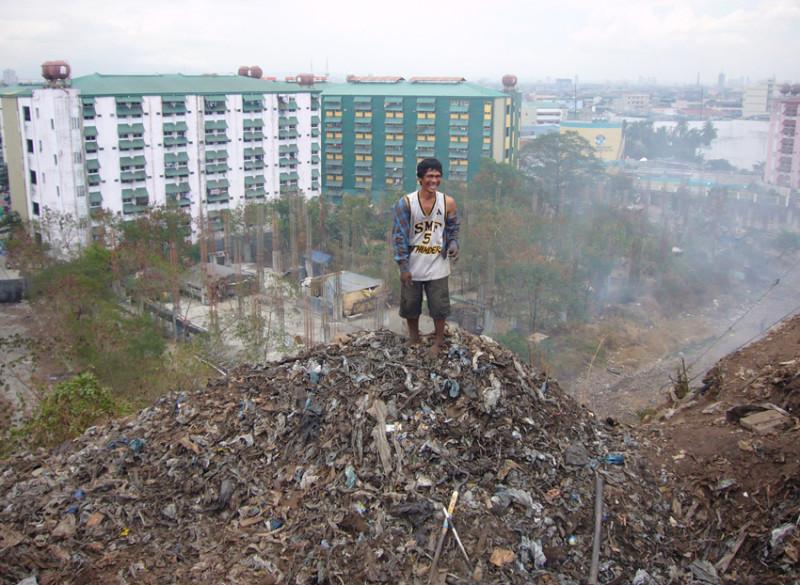 Trotz des immensen Müllproblems und der Armut des Landes blickten wir vielerorts in fröhliche Gesichter.