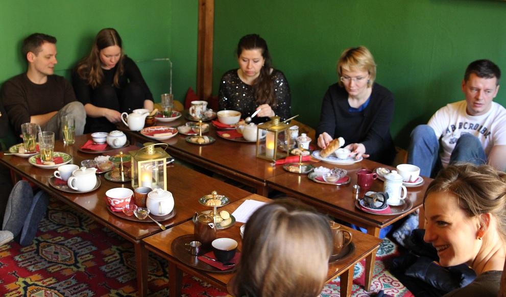 Tadschikische Teestube
