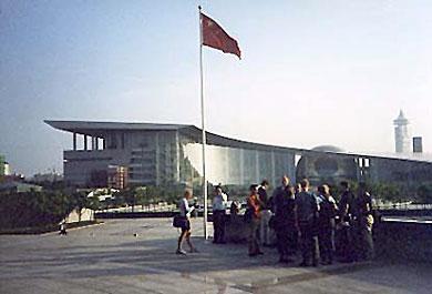 Das neue Messe- und Wissenschaftszentrum in Shanghai