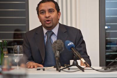 Der ägyptische Medienwissenschaftler Adel Iskandar - Foto: Klaus Heymach