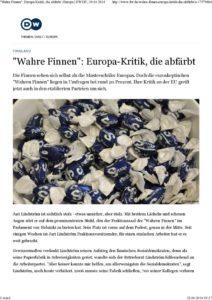 thumbnail of Kuball DW.de Wahre Finnen– Europa-Kritik, die abfärbt – Europa – DW.DE – 19.04